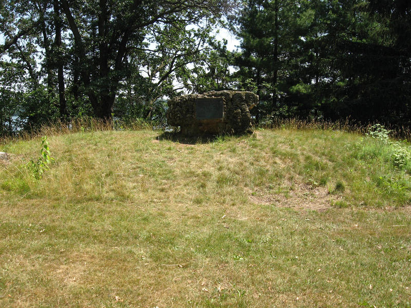 Mound at Wakanda Park in Menomonie, Wisconsin.