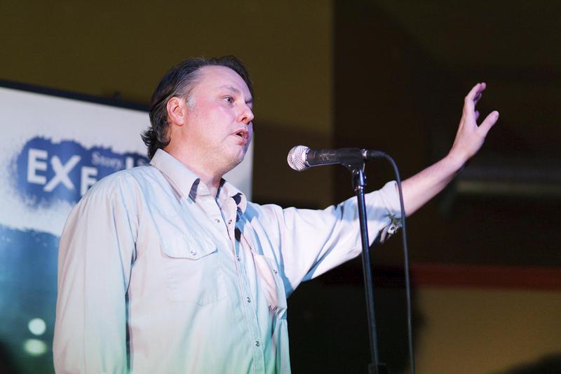 Storyteller Jeff Kerr