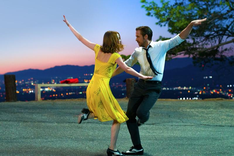 """La La Land"" tells the story of Mia (Emma Stone), an aspiring actress, and Sebastian (Ryan Gosling), a dedicated jazz musician, who are struggling to make ends meet in a city known for crushing hopes and breaking hearts."