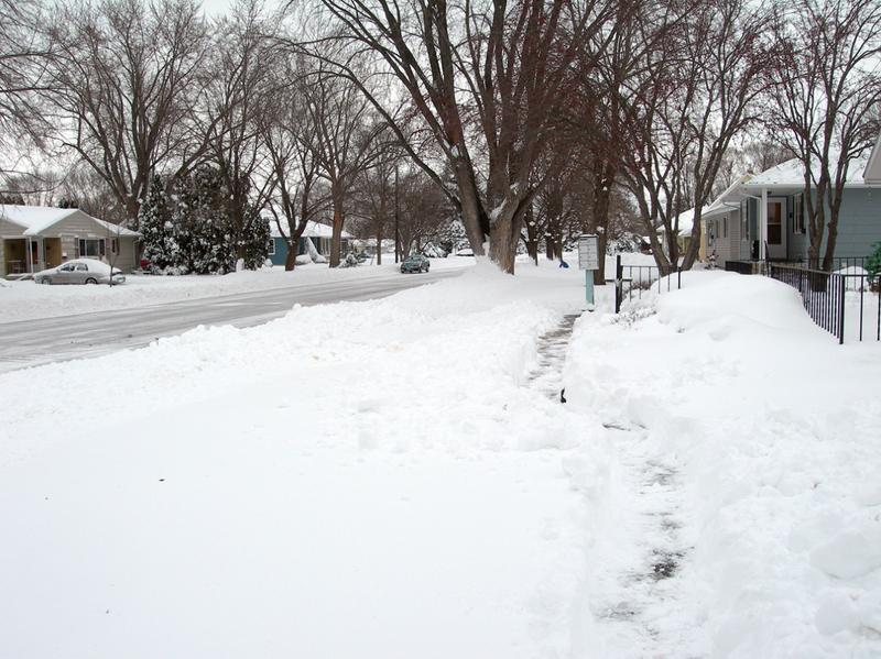 Wintery scene