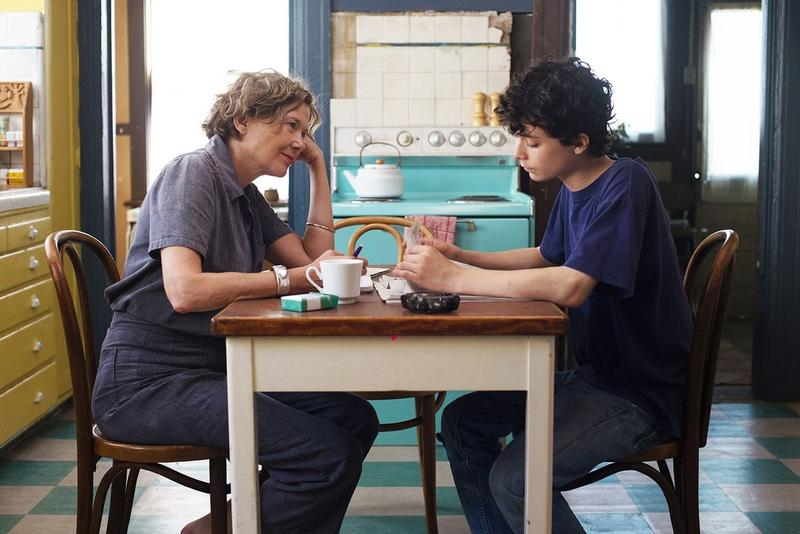 "Annette Bening and Lucas Jade Zumann star as the mother and son duo trying to navigate their lives and relationship in ""20th Century Women."""