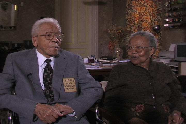 Dr. James and Virginia Cameron, May 2006, on their 68th wedding anniversary, a month before his death.