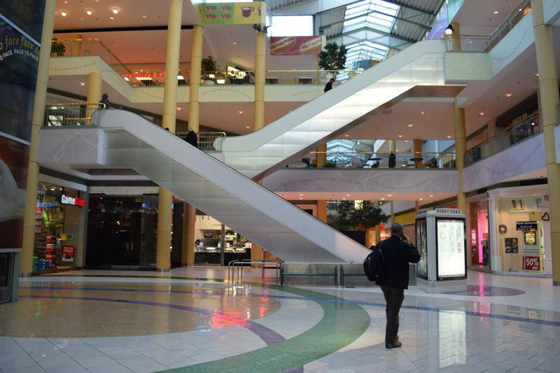 The current Grand Avenue Mall.