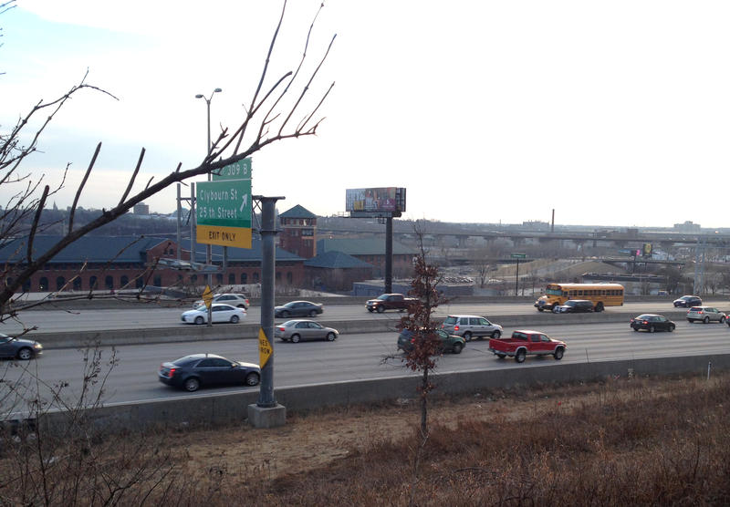 The scent used to waft across I-94 around 27th Street.