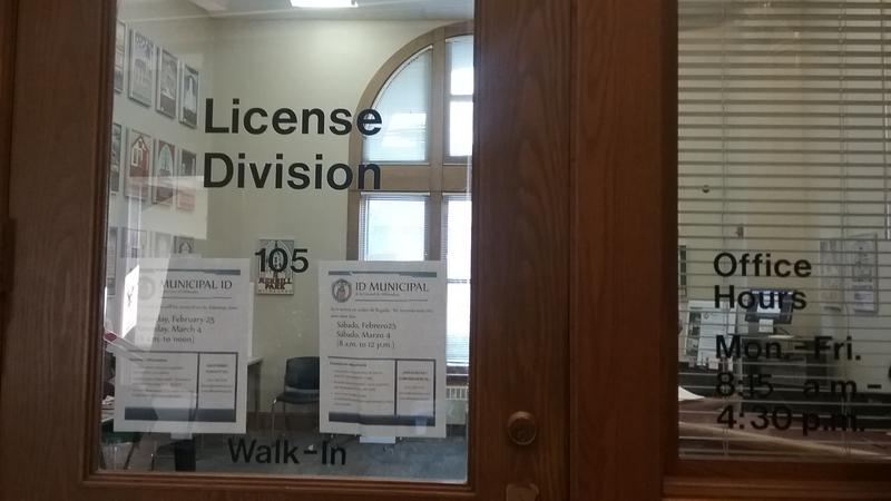 People are applying for municipal IDs at the Milwaukee City Clerk's office