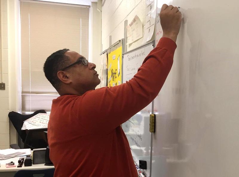 Dave Lucre, a sixth grade teacher at Brown Deer Elementary School.