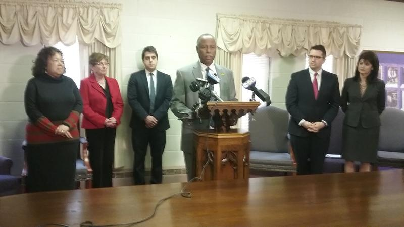 DWD Secretary Ray Allen announces job training programs in Milwaukee on Tuesday