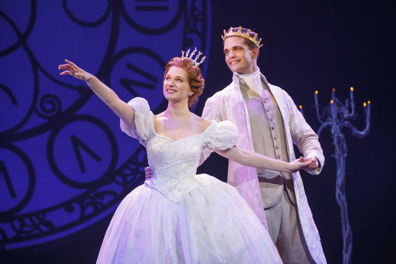 Tatyana Lubov and Hayden Stanes in Rodgers + Hammerstein's CINDERELLA