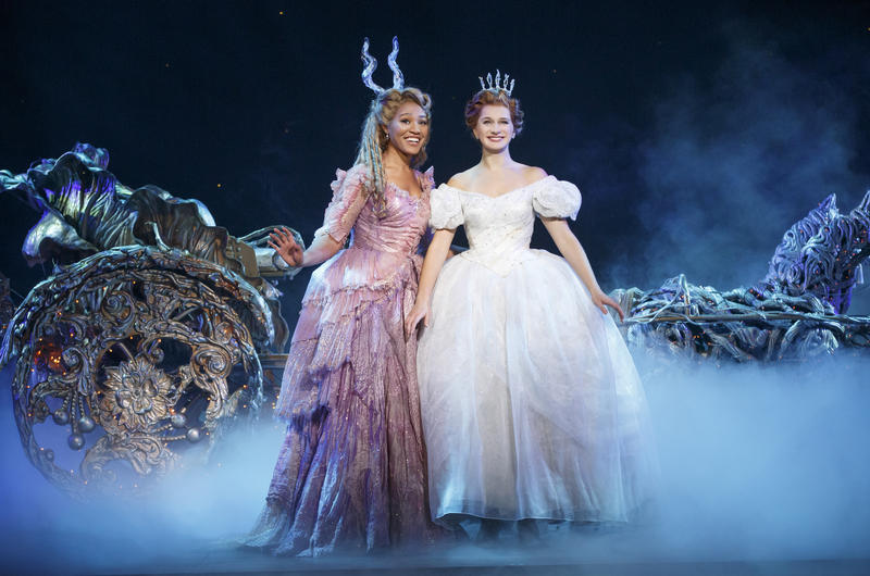 Leslie Jackson and Tatyana Lubov in Rodgers + Hammerstein's CINDERELLA