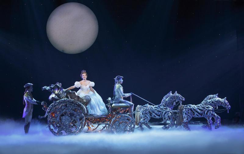 Brian Liebson, Tatyana Lubov and Arnie Rodriguez in Rodgers + Hammerstein's CINDERELLA