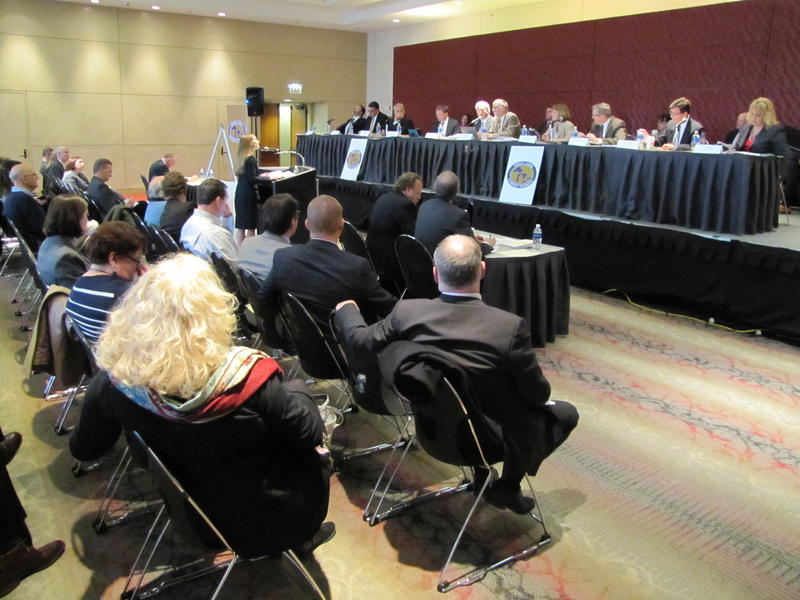 The Great Lakes Compact Council convened in Chicago Monday.