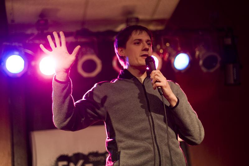 Storyteller Kevin Barry