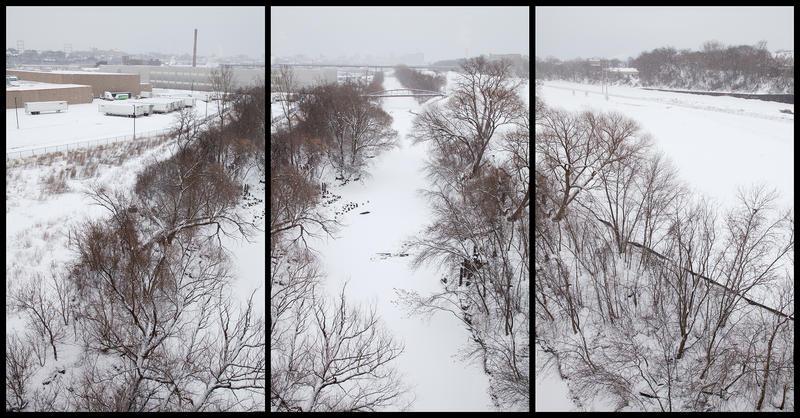 """Menomonee Valley Winter"", Photograph"