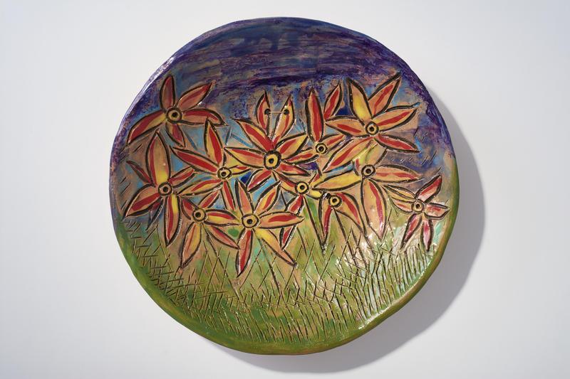 """Flower Field, Ceramic"