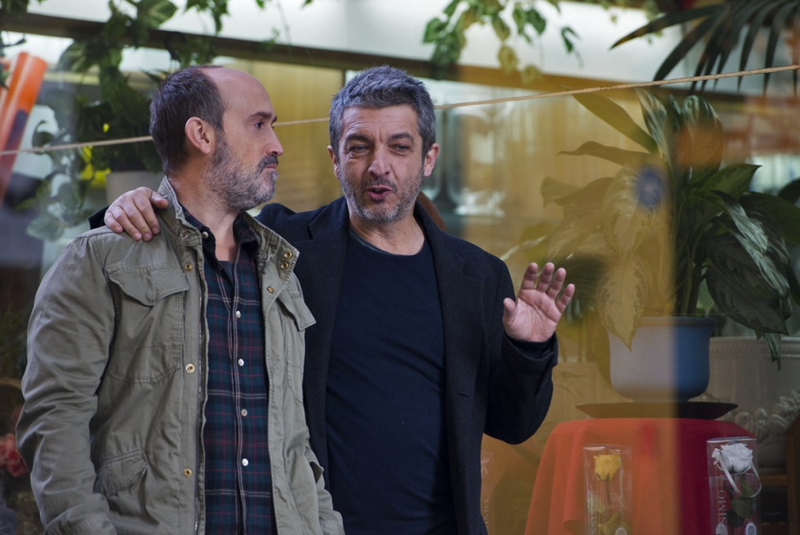 """Truman"" follows Julián (Ricardo Darin), Tomás (Javier Cámara), and Julián's faithful dog Truman for four intense days through emotional and surprising moments prompted by Julián's complicated situation."