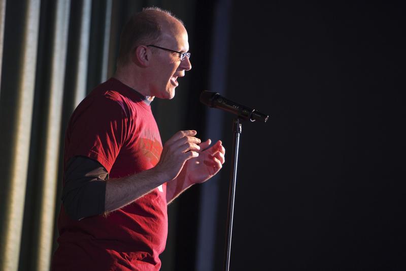Storyteller Joel Dresang