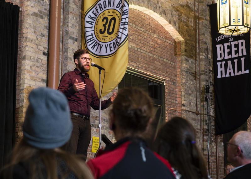 Storyteller Andy Parmann
