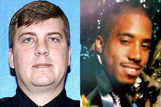 Christopher Manney (left) was a Milwaukee police officer when he shot and killed Dontre Hamilton three years ago. Manney did not face criminal charges in the shooting; however, he was fired from the MPD for not following proper procedures in the incident