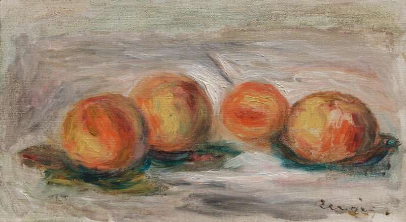 Pierre-Auguste Renoir. Peaches (Pêches), ca. 1906. Private collection.