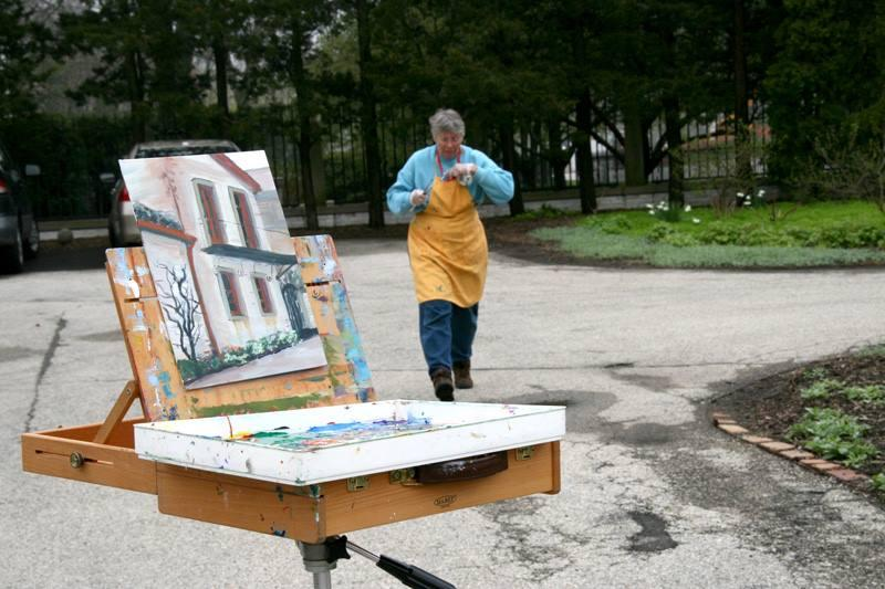 Milwaukee Museum Mile's Art In The City: Plein Air MKE 2016