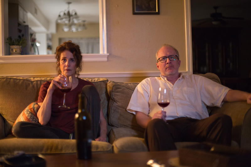 "Debra Winger and Tracy Letts play a long-married, dispassionate couple who are both in the midst of serious affairs in ""The Lovers."""