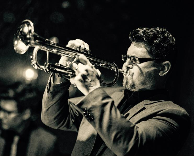 Trumpeter Eric Jacobson
