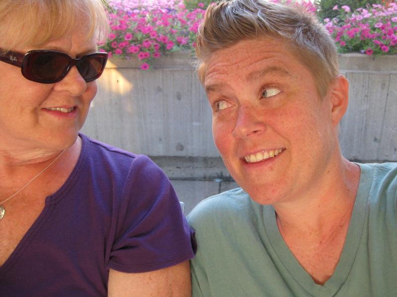 Liz Wermcrantz (left) and her mother, Ellen Wermcrantz.