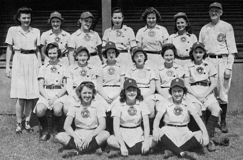 The 1945 Racine Belles.