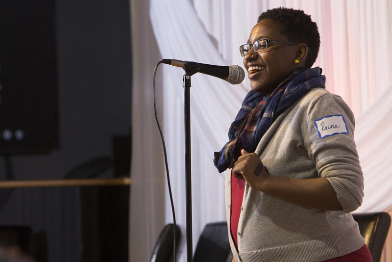 Storyteller Raina Johnson