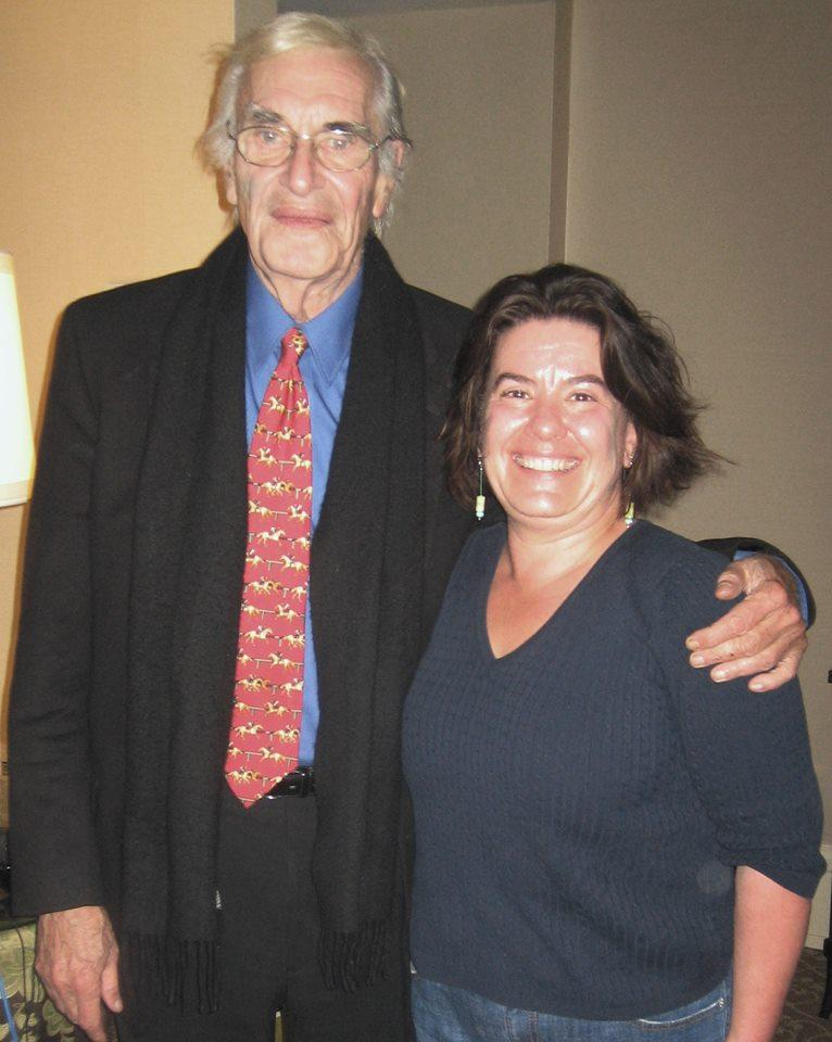Martin Landau and Bonnie North at the Pfister Hotel in 2009