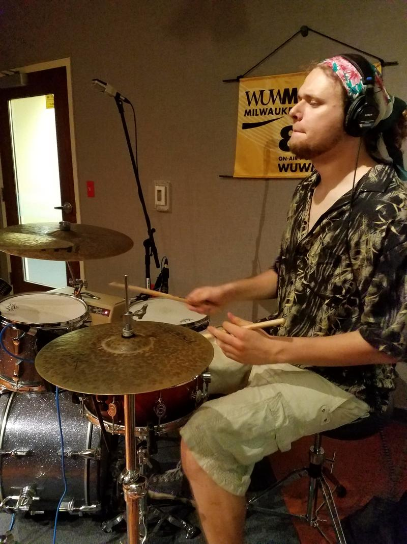 Dylan Koch performs as part of the Koch Marshall Trio on Tuesday, July 18 2017.