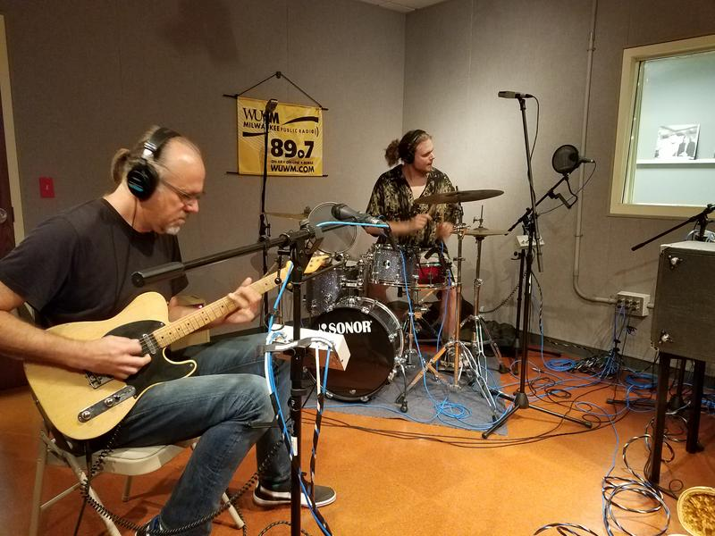 The Koch Marshall trio in the Lake Effect studio on Tuesday, July 18 2017.