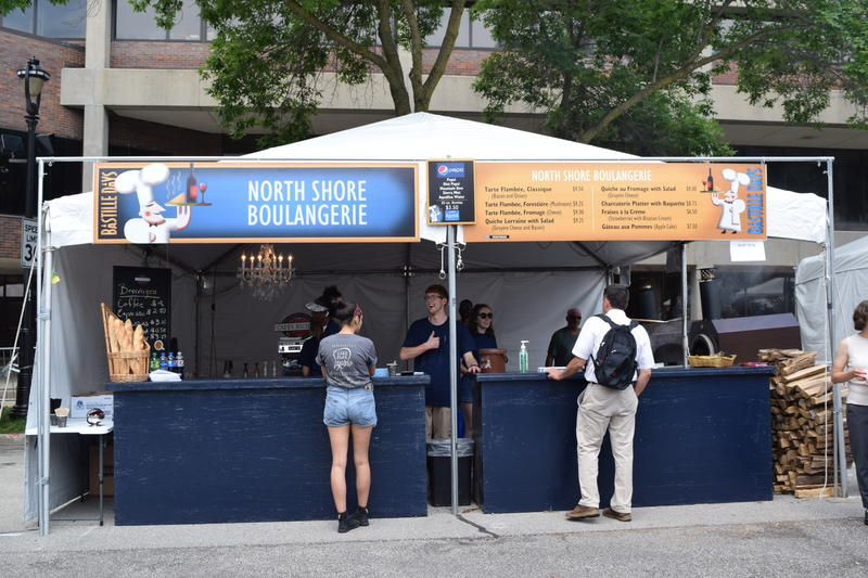 North Shore Boulangerie's Stand at Bastille Days