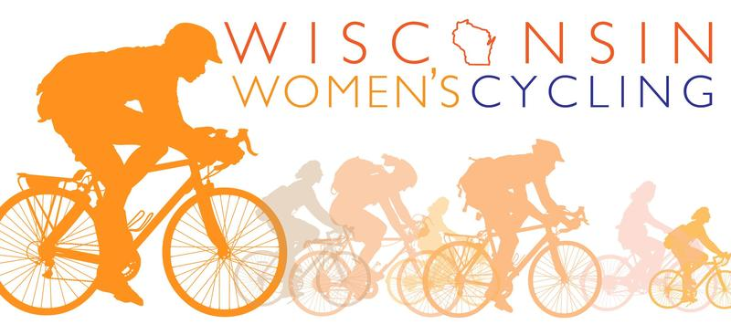 The Wisconsin Women Cycling logo. The organization, founded by Cindy Petted, is based in Cedarburg.