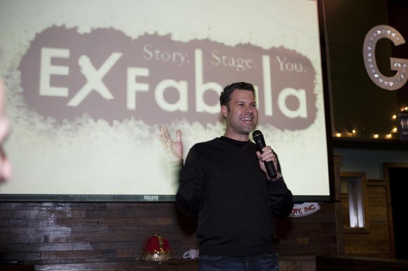 Storyteller Bob Pothier
