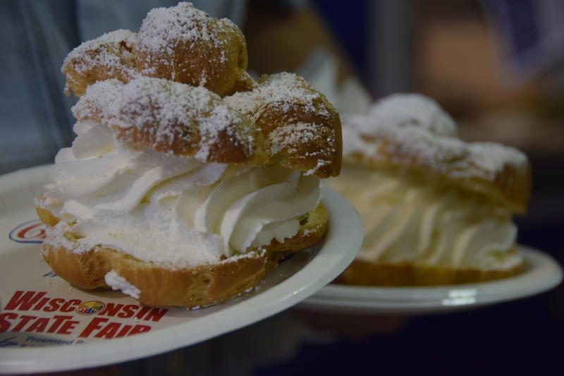 Wisconsin State Fair's Original Cream Puffs.