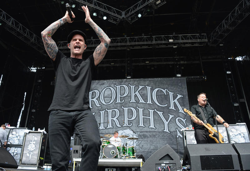 Al Barr of Dropkick Murphys performs during the 2013 Orion Music + More Festival at Belle Isle Park on June 8, 2013 in Detroit, Michigan.