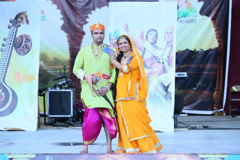Traditional Indian Dress from Rajasthan, IndiaFest 2016