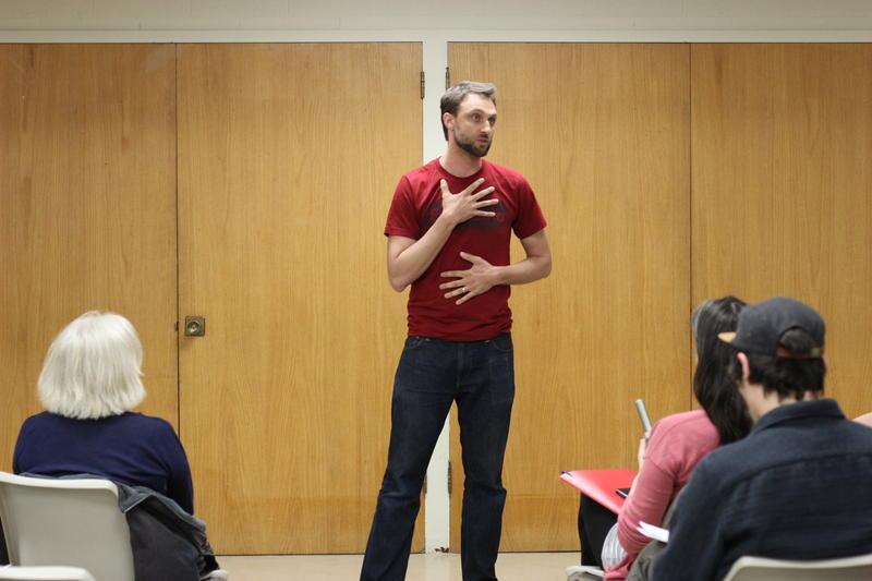Storyteller Zak Heimerl