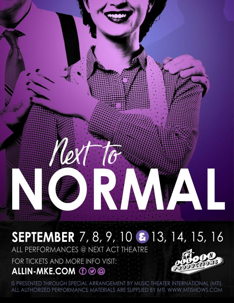 Next To Normal Show Poster