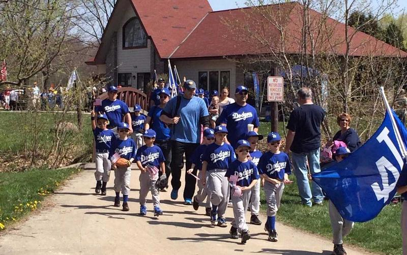 The Greenfield Little League makes its home at Kulwicki Park.