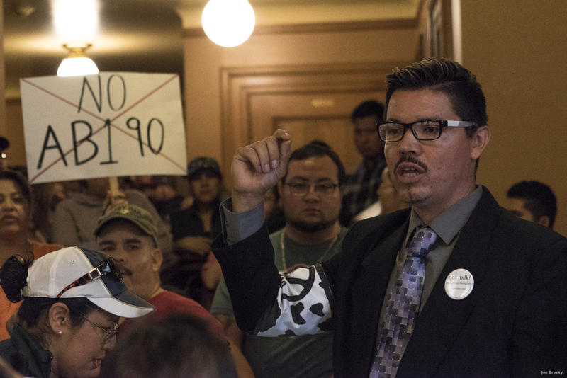 There was an overflow crowd at the State Capitol on Thursday.