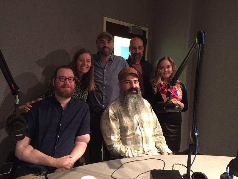 (From left to right) Will Lautzenheiser, Robin Berghaus, Kevin McCarthy, Angel Gonzalez, Steve Delfino, and Joy Powers.