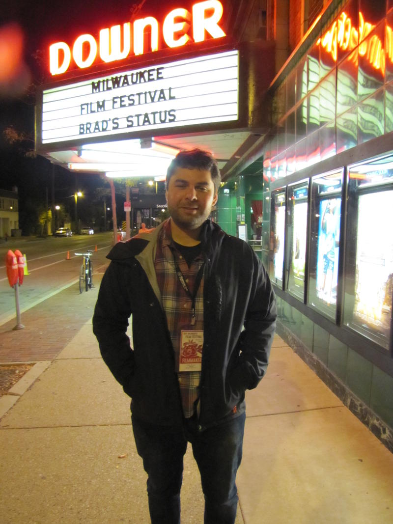 Director David Alvarado at Bill Nye: Science Guy Milwaukee Film Festival opening.