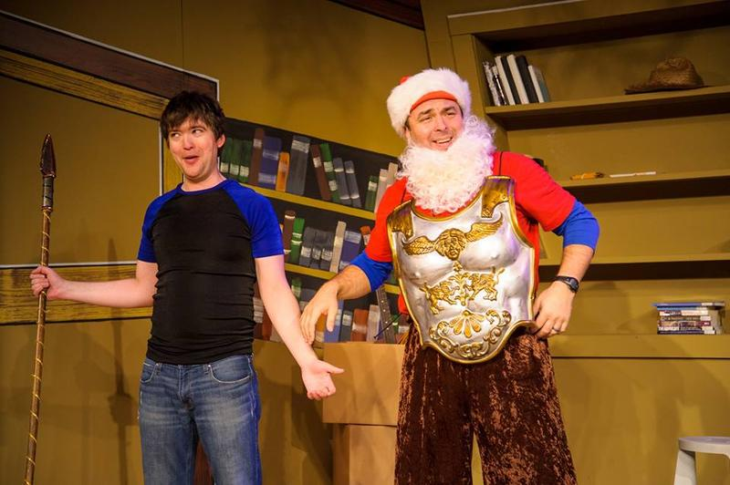 "Chris Goode and Doug Jarecki in ""All the Great Books (Abridged)"""