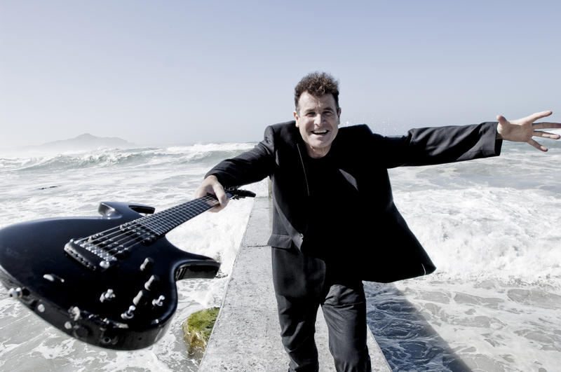 South African musician Johnny Clegg