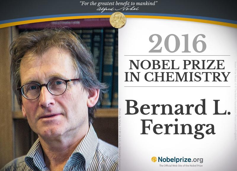 "Dr. Bernard L. ""Ben"" Feringa spoke this fall at UW-Milwaukee."