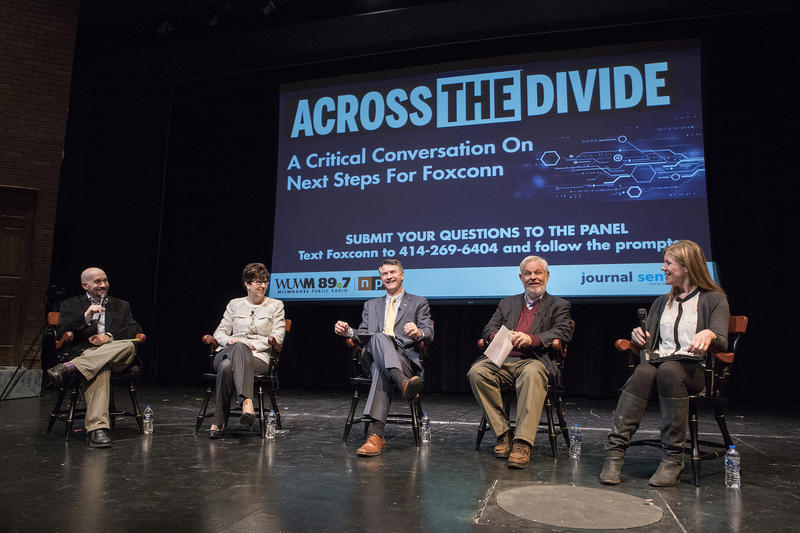 This Across the Divide event focused on Foxconn.