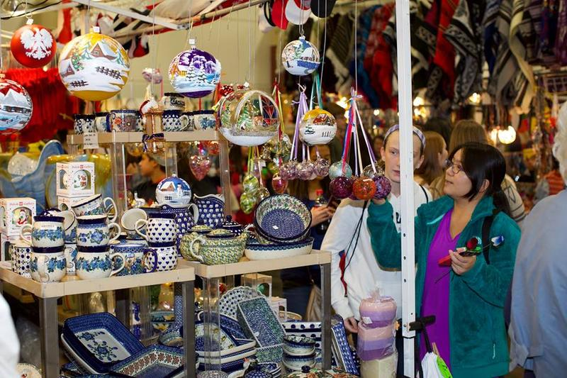 The International Bazaar at Holiday Folk Fair
