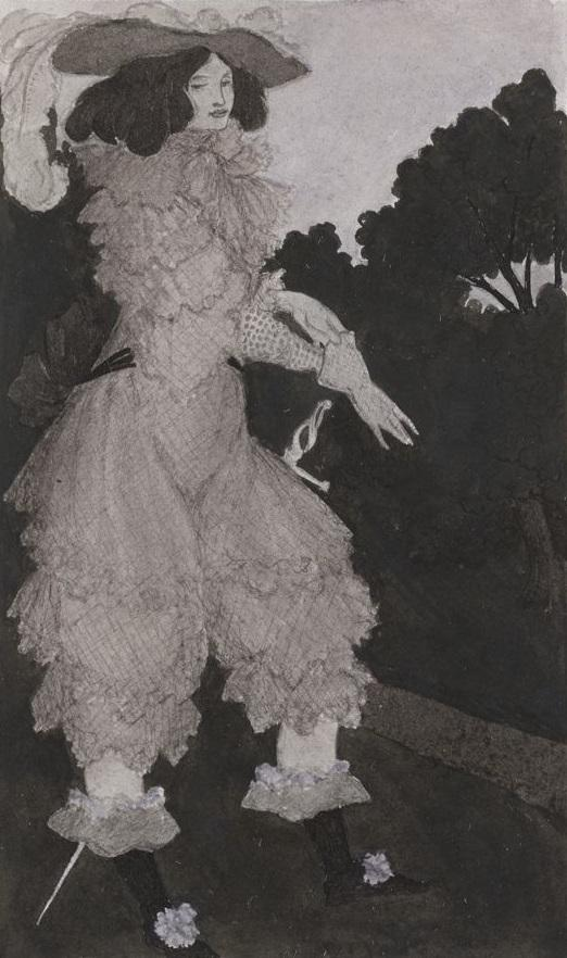 Mademoiselle de Maupin was most famous for her fencing and her singing in the Paris Opera.